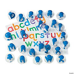 Simple Lowercase Letter Stampers (26 pc)