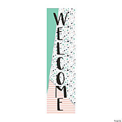 Simple Sassy Vertical Welcome Banner