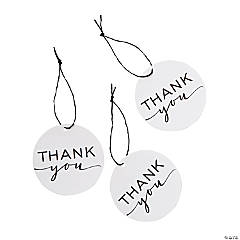 Simple Thank You Favor Tags