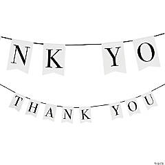 Simple Thank You Garland