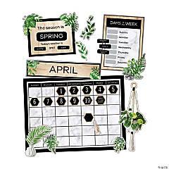 Simply Boho Calendar Bulletin Board Set