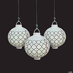 Simply Timeless Light-Up Hanging Paper Lanterns