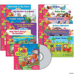 Sing Along & Read Along with Dr. Jean Readers, Variety Pack with CD