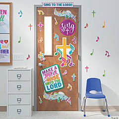 Sing to the Lord Door Decoration Set
