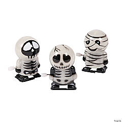Skeleton & Mummy Wind-Ups PDQ