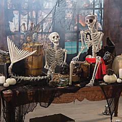 Skeleton Mermaid & Pirate Couple