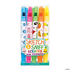Sketch & Sniff™ Scented Gel Crayons