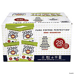 SKINNY POP 100 Calorie Popcorn Snack - 28 Pieces