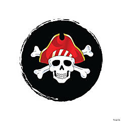 Skull & Crossbones Pirate Stickers