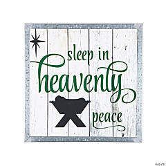Sleep In Heavenly Peace Sign