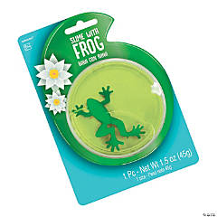Slime Container with Frog