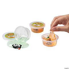 Slime with Halloween Character Toy