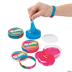 Slime with Rubber Bracelets