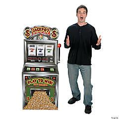 Slot Machine Cardboard Stand-Up