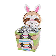 Sloth Bunny Treat Boxes