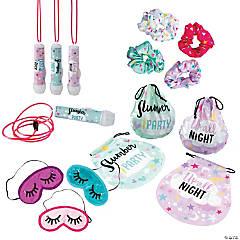 Slumber Party Favor Kit for 12 Guests