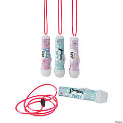 Slumber Party Flashlights on a Rope