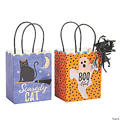 Small Basic Boo Gift Bags