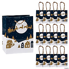 Small Christmas Night Gift Bags