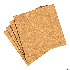 Small Craft Cork Square Tiles