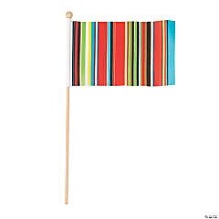 Small Fiesta Sarape Flags
