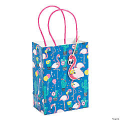 Small Flamingo & Cactus Gift Bags