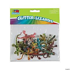 Small Glitter Lizards
