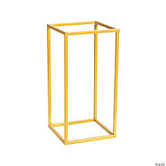 Small Gold Geometric Stand