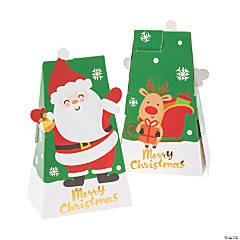Small Holiday Santa Treat Boxes
