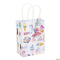 Small Hooray It's Your Birthday Gift Bags