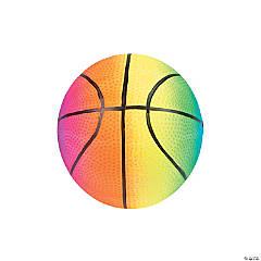 Small Inflatable Rainbow Basketballs