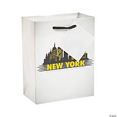 Small New York Gift Bags with Tags