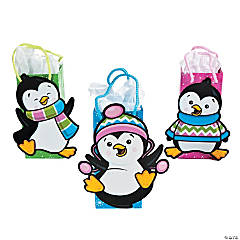 Small Penguin Party Gift Bags
