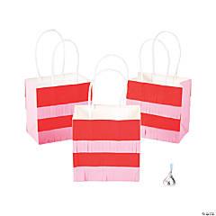 Small Valentine Fringe Gift Bags
