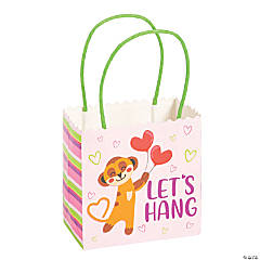 Small Valentine Meerkat Gift Bags