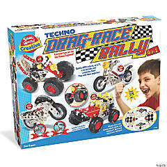 Small World Toys Techno Drag-Race Rally 4 in 1