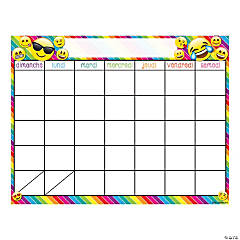 Smart Poly™ Chart, Calendrier (French Calendar) - Dry-Erase Surface, Qty 6