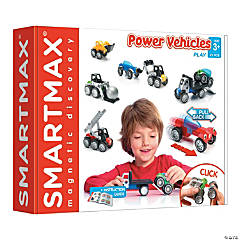SmartMax  Power Vehicles Mix, 26 Pieces