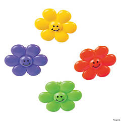 Smile Face Flower Rings