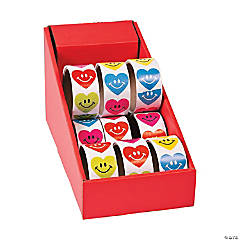 Smile Face Heart Stickers PDQ