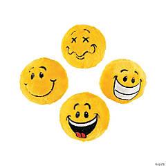 Smile Face Plush Bouncy Ball Assortment