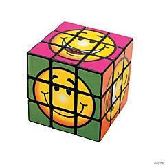 Smile Face Puzzle Cubes