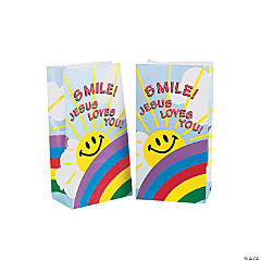 Smile Jesus Loves You Paper Bags