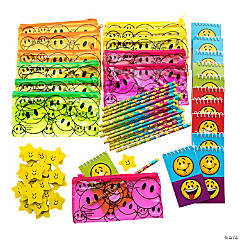 Smile Stationery Set with Pencil Case Kit