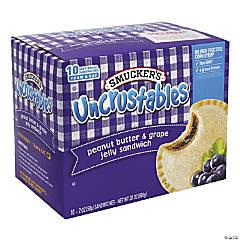 SMUCKER'S UNCRUSTABLES Peanut Butter & Grape, 2 oz - 10 Count, 2 Pack