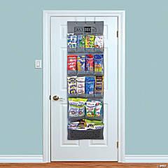 SNACK BOX PROS Breakroom Healthy Snacks Over The Door Organizer, 90 Count