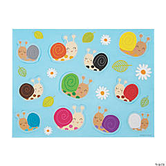 Snail Color Recognition Sticker Scenes
