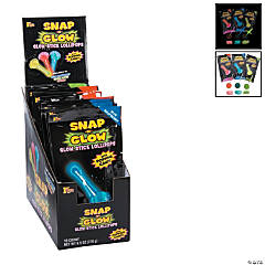 Snap 'n Glow Lollipops with Popping Candy