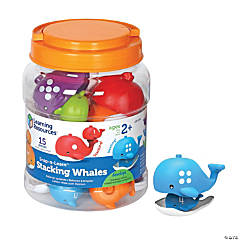 Snap-n-Learn™ Stacking Whales