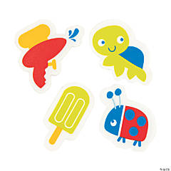 Snappy Spring Erasers